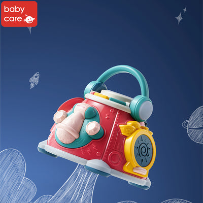 Babycare Baby Toddler Activity Center Musical Activity Cube Play Learning Center Toy with Lights & Sounds - Little Kooma