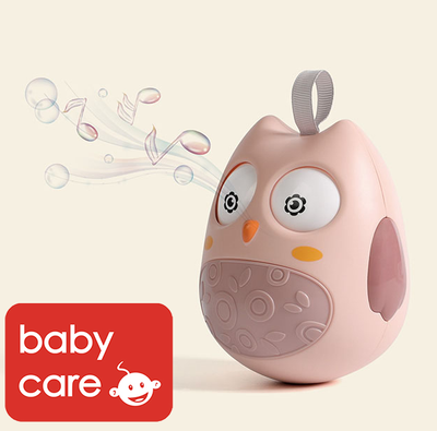 Babycare Owl Tumbler Roly-poly Toy Baby Children Gift Early Education Toys - Little Kooma