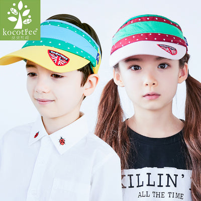Kids Topless Striped Cap - Little Kooma