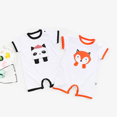 Baby Fox Panda Romper - 1006 - Little Kooma