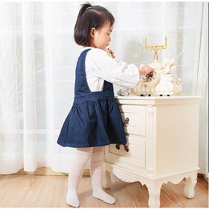 Girl Breathable Cotton Tights 6 Months to 6 Years - Little Kooma