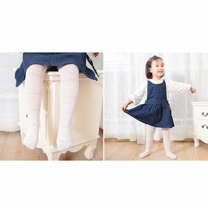 Girl Breathable Cotton Tights 6 Months to 6 Years