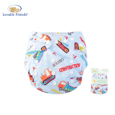 All In One Reusable Washable Adjustable Cloth Diapers Cover Baby Nappy 03970 - 0805 - Little Kooma