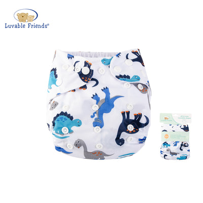All In One Reusable Washable Adjustable Cloth Diapers Cover Baby Nappy 03972 - 0805 - Little Kooma