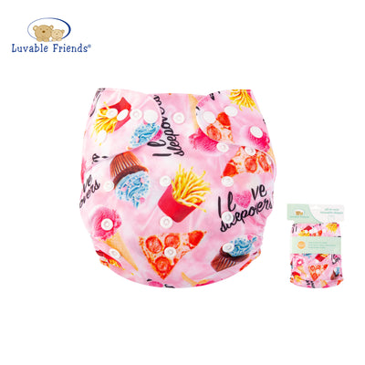 All In One Reusable Washable Adjustable Cloth Diapers Cover Baby Nappy 03973 - 0805 - Little Kooma