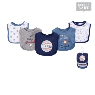 Baby 5pc Interlock Bibs 52064 - 0821 - Little Kooma
