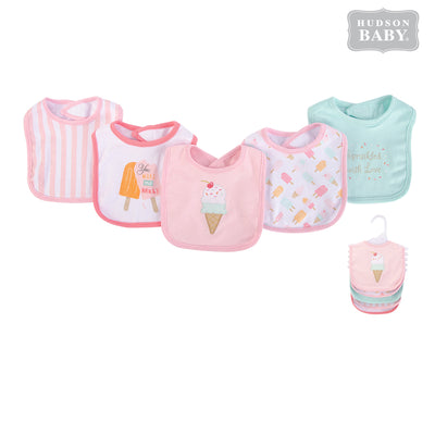 Baby 5pc Interlock Bibs 52066 - 0821 - Little Kooma