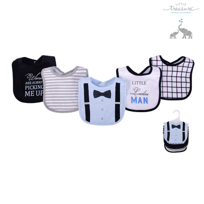 Baby 5pc Interlock Bibs 75510 - 0821 - Little Kooma