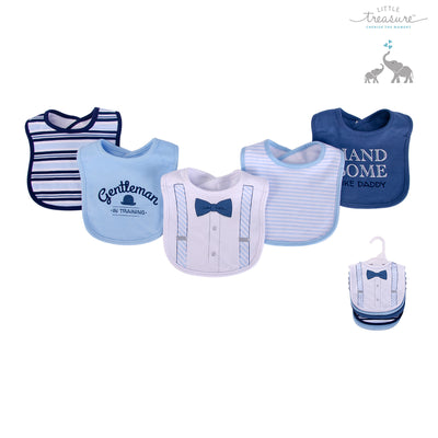 Baby 5pc Interlock Bibs 75513 - 0821 - Little Kooma