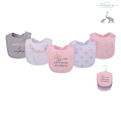 Baby 5pc Interlock Bibs 75519 - 0821 - Little Kooma