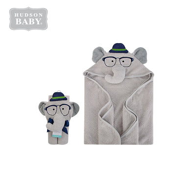 Baby Animal Hooded Towel(Woven Terry) 00429CH - 0821 - Little Kooma