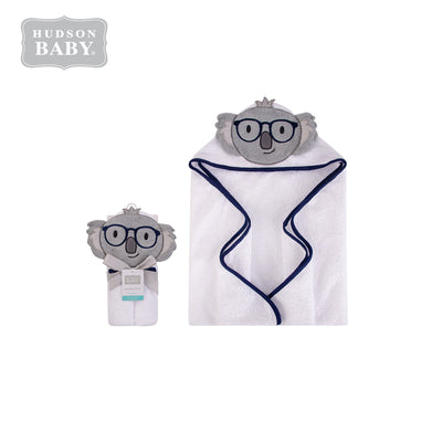 Baby Animal Hooded Towel(Woven Terry) 00430CH Koala - Little Kooma