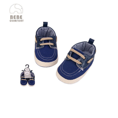 Baby Denim Shoes w Laces 6-12 months/12-18 months BC31062 - 0805 - Little Kooma
