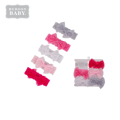 Baby Girl's Lace Headwraps 5 Piece Pack 58560 - 0729 - Little Kooma