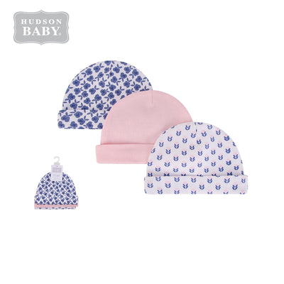 Baby Hats 3 Piece Pack 0-6 months 52303CH - 0805 - Little Kooma