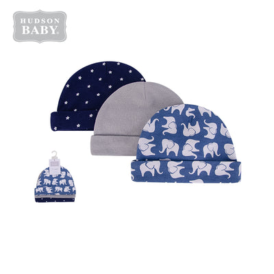 Baby Hats 3 Piece Pack 0-6 months 52308CH - 0805 - Little Kooma