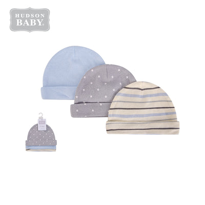 Baby Hats 3 Piece Pack 0-6 months 52313CH - 0805 - Little Kooma