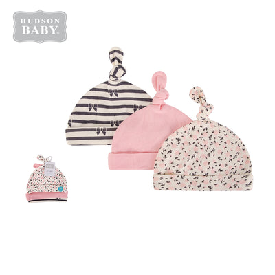 Baby Knot Beanie Hat 3 Pc 52302 - 1006 - Little Kooma