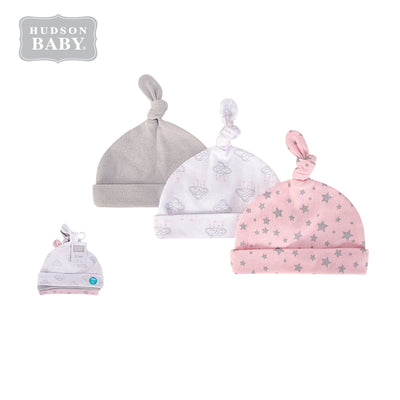 Baby Knot Beanie Hat 3 Pc 52304 - 1006 - Little Kooma