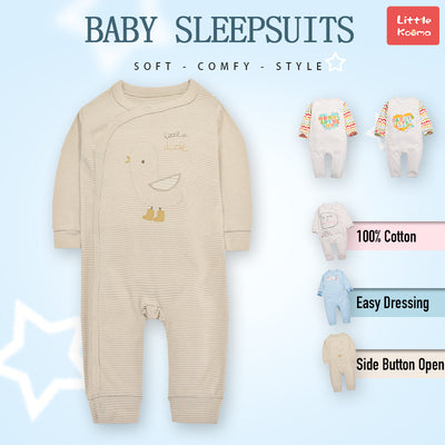 Baby Little Duck Stripes Jumpsuit All In One - Little Kooma