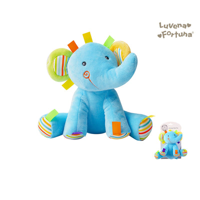 Baby Rattle Plush Toy Elephant GP25-0897 - 0801 - Little Kooma