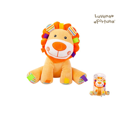 Baby Rattle Plush Toy Lion GP25-0898 - 0801 - Little Kooma