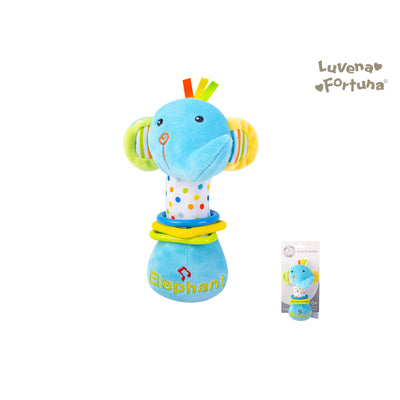 Baby Rattle Toy Elephant GP25-0893 - 0801 - Little Kooma