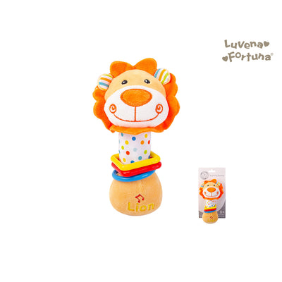 Baby Rattle Toy Lion GP25-0894 - 0801 - Little Kooma