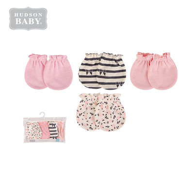Baby Scratch Mittens Set 4 Pairs 52328 - 1006 - Little Kooma