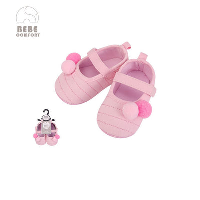 Baby Shoes Pink w Balls 6-12 months/12-18 months BC31036 - 0805 - Little Kooma