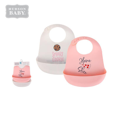 Baby Silicone Bibs 2 Piece Pack 56056 - 1116 - Little Kooma
