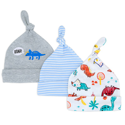 Baby Boy Hats 3 Piece Pack  0-6 Months - Little Kooma