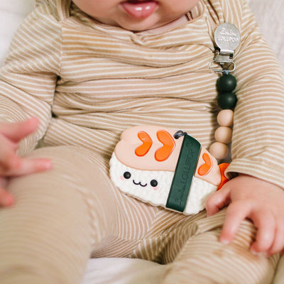 Silicone Baby Teether - Ebi Set - Little Kooma