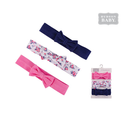 Hudson Baby Headwraps 3 Piece Pack 58588 - 0729 - Little Kooma