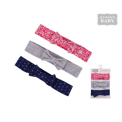 Hudson Baby Headwraps 3 Piece Pack 58590 - 0729 - Little Kooma
