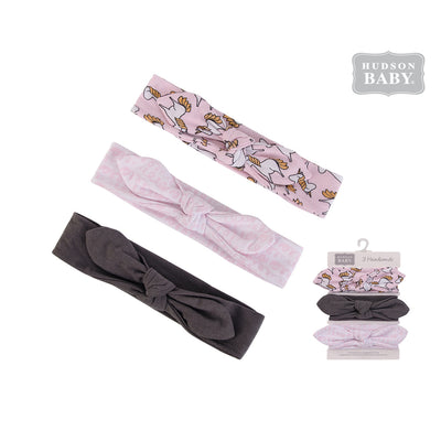 Hudson Baby Headwraps 3 Piece Pack 58594 - 0729 - Little Kooma