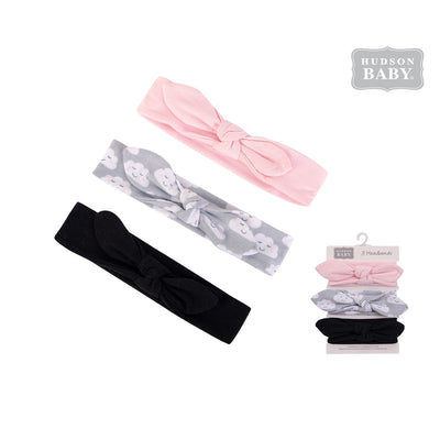 Hudson Baby Headwraps 3 Piece Pack 58596 - 0729 - Little Kooma