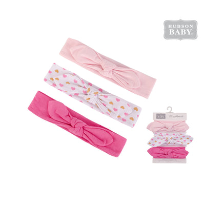 Hudson Baby Headwraps 3 Piece Pack 58597 - 0729 - Little Kooma