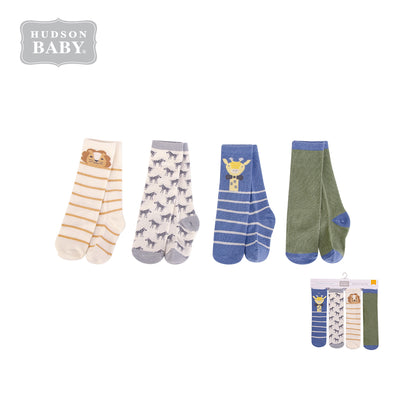Hudson Baby Knee High Socks 4 Pairs Pack 00378 - 1221 - Little Kooma