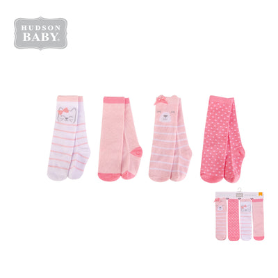 Hudson Baby Knee High Socks 4 Pairs Pack 00387 - 1221 - Little Kooma