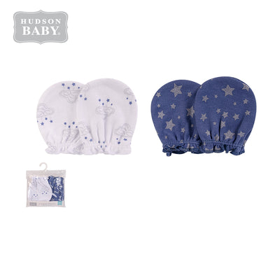 Baby Scratch Mittens Set 2 Pairs 52321 - 1006 - Little Kooma