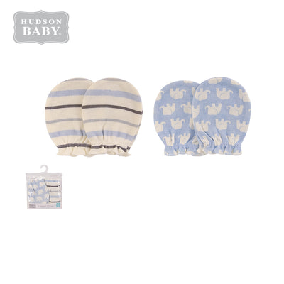 Baby Scratch Mittens Set 2 Pairs 52320 - 1006 - Little Kooma