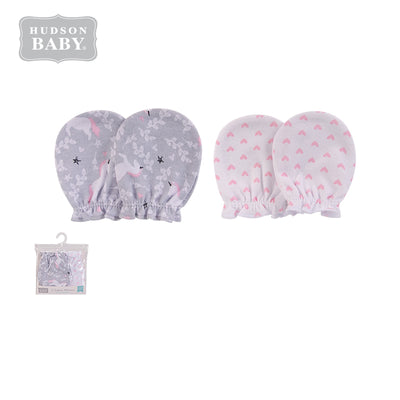 Baby Scratch Mittens Set 2 Pairs 52317 - 1006 - Little Kooma