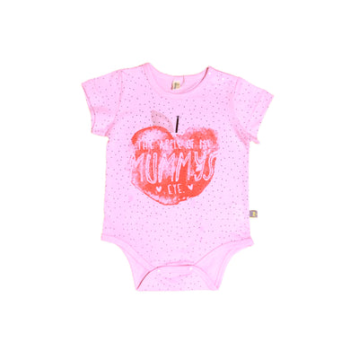 Baby Bodysuit THE APPLE OF MY MUMMY'S - 1006 - Little Kooma
