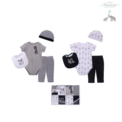 Little Treasure New Born Baby Clothing Gift Set 8Pcs 77012 - 0528 - Little Kooma