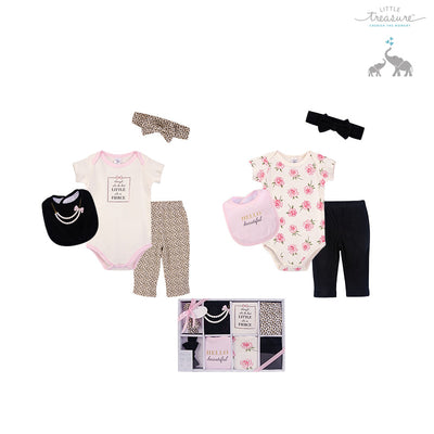 Little Treasure New Born Baby Clothing Gift Set 8Pcs 77013 - 0528 - Little Kooma