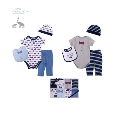 Little Treasure New Born Baby Clothing Gift Set 8Pcs 77011 - 0801 - Little Kooma