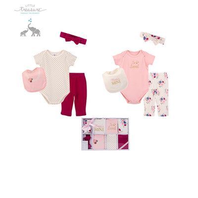 Little Treasure New Born Baby Clothing Gift Set 8Pcs 77016 - 1204 - Little Kooma