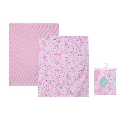 Muslin Swaddle Blanket 2pcs Pack 18796 - 0528 - Little Kooma