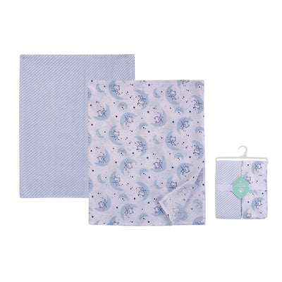 Muslin Swaddle Blanket 2pcs Pack 18798 - 0528 - Little Kooma